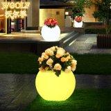 Garden Home Office Decorative LED Flower Pot