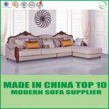 Classic European Elegant Home Furniture Fabric Sofa