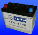12V Starting Usage Dry Charged Car Battery