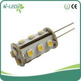 G4 Bi Pin Bulb 15SMD3528 AC/DC12-24V Warm White