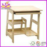 Natural Mini Notebook Wood Desk, Computer Desk for Kids, Wooden Toy Computer Desk for Children, Best Wooden Computer Desk Wj278317