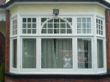 Caribbean Style PVC Casement Window for Villa
