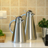 Solidware High Quality Stainless Steel Double Wall Vacuum Coffee Pot