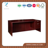 Solutions Right Pedestal Bowfront Desk with Three Quarter Modesty Panel