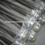 Metallic Corrugated Annular Omega Convoluted 304 Braided Hose