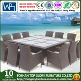 Well Furniture 13 Piece Outdoor Patio Dining Set with Cushions (TG-1271)
