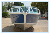 China Manufacturer 5m/17FT Runabout Aluminum Fishing Boat Runabout Boat