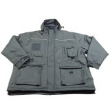 Adult′s Padded Padding Warm Waterproof Polyester Winter Jacket Parka (IC17)