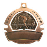 Zinc Alloy Sport Medal with Color