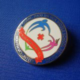 Sports Enamel Lapel Pin, Badge with Special Design (GZHY-SE-039)