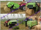 Farm Use Straw Bale (baler, baling) Press Strapping Machine