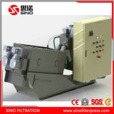 Sludge Dewatering System Stainless Steel Screw Filter Press