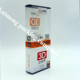 Good Quality 3D Printing Clear PVC Folding Plastic Earphone Box Package with Handle