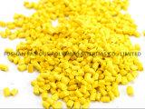 ABS PLA 3D Printer Filament Bulk Plastic Material Pellets Yellow Color Masterbatch