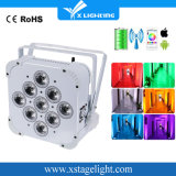 Purchase Battery LED High Power Light Flat PAR Can Lighting