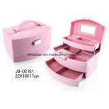 Luxury Foldable PU Leather Gift Storage Jewelry Case/Box