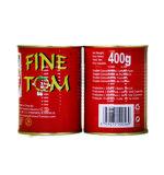 Tin Food Tomato Processors Tomato Paste for Benin 400g