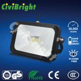 Slim 50W LED Floodlight with Ce RoHS