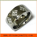 Stainless Steel Fashion Body Jewelry Finger Ring Czr2528
