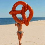Swimming Pool Floats Inflatable Pretzel Floats Rafts Water Toys