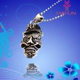 Fashion 316 Stainless Steel Bull Demon Skull Pendant Necklace for Men Women