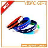 2017 Hot Sale Customed Logo Deboss Silicone Wristband