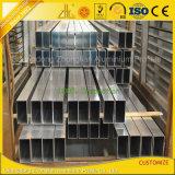 OEM Aluminium Extrusion Rectangular Square Tube Pipe Profile