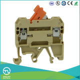 DIN Rail Industrial Distribution Switch Type 4mm 250V 10A Terminal Block