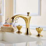 Golden Crystal Bathroom Faucet Basin Taps
