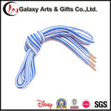 Custom Polyester Round Metal Tipped Shoelaces