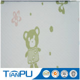 Bear Paterrn Poly Knitted Mattress Fabric