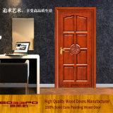 European Style Solid Wood Single Door (GSP2-015)