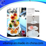 Metal Cake Stand Plate Holder for Party Display