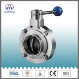 Stainless Steel Manual Welded Butterfly Valve (DN11850-2-No. RD1107)