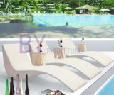 Outdoor PE Rattan Lounger Lying Bed and Balcony Leisure Hotel Pool Wicker Chair