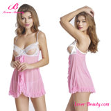Pink Sexy Baby Doll Body Shaper Sexy Lingerie Underwear