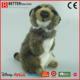 En71 Lifelike Stuffed Animal Soft Meerkat Plush Toy for Kids