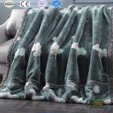 Fashion Printing Raschel Fleece Blankets 2 Plys 3.5kg