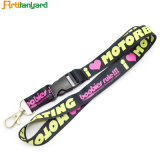 Customized Printed Logo Heat Transfer Lanyard