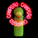 Mini Light-up Handheld Personal LED Programmable Fan for Promotion Gifts (3509)
