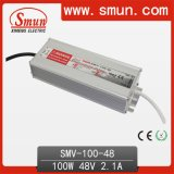 48VDC 2.1A 100W Switching Power Supply Waterproof LED Driver IP67