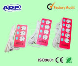 2 Pin 3/4/5 Ways European Style Extension Socket with Dependent Switch