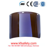 Wholesale Customized Good Quality Face Shield Visor Fireretardant Dark Black Welding Polycarbonate Face Shield