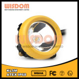 Wisdom Kl5m Mining Corded Caplamp, CREE LED Headlamp