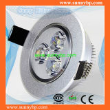 Integrated Cold Forging 9W LED Downlight