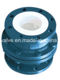 PTFE Lined Vertical Lift Check Valve