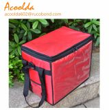 35L Food Insulated Cooler Bag with 6 Sides Supporting Mateiral