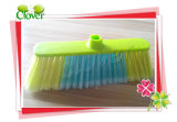Household Cleaning Straight Plastic Broom for Chile Market