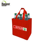 Customized 6 Grid Non Woven Bottle Bag for Promotion or Shopping