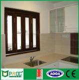European Standard Powder Coated Aluminum Folding Window